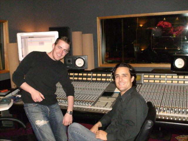 In StudioEngineer Bryan Morton @ Bomb ShelterAudio Production