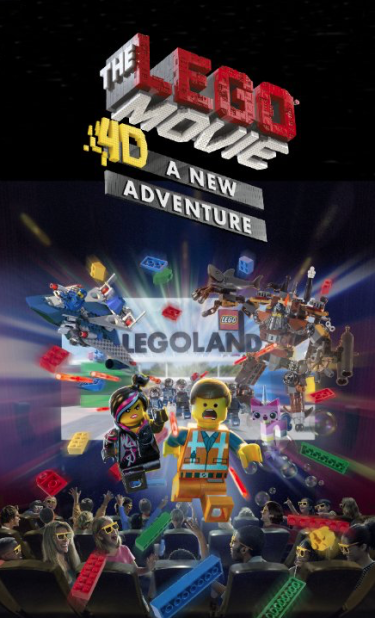 Lego Movie 4D A New Adventure (Ride)Audio ProductionMixing