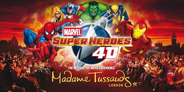 Marvel Super Heros 4D (Theme park)Audio ProductionMixing