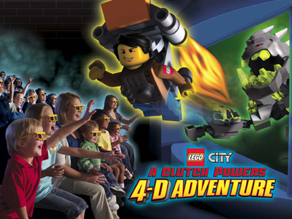 Lego CityA Clutch Powers 4-D AdventureAudio ProductionMixing